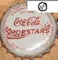 UGANDA Coca-Cola Popstars soda bottle crown cap Africa Kronkorken, chapa gaseosa tapon corona tappi coke