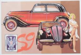 AUTO BIANCHI S 9 BERLINA TIPO RICCIONE ANNO 1937 - Passenger Cars