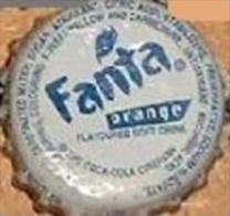 UGANDA Fanta Orange soda bottle crown cap Africa Kronkorken, chapa gaseosa tapon corona tappi