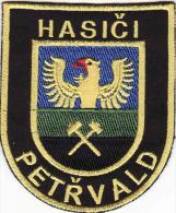 Ecusson Patch POMPIER Petřvald - Czech Republic, - Pompiers