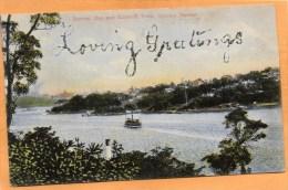 Neutral Bay And Kirribilli Point Sydney NSW 1905 Postcard - Sydney