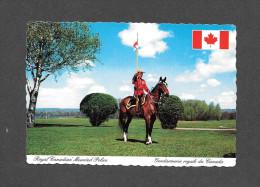 POLICE - ROYAL CANADIAN MOUNTED POLICE - R.C.M.P. CHEVAL - GENDARMERIE ROYALE DU CANADA - PAR DEXTER - Police - Gendarmerie