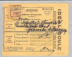 Afrika Togo Lome 1929-12-23 Récépissé > Bremen - Togo (1960-...)
