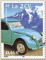 YT3474 Année:2002 Le Siècle Au Fil Du Timbre (V). Transports.la 2CV - Francia