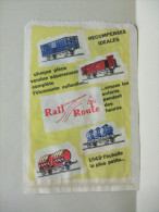 SAC Emballage Sachet En PAPIER RAIL ROUTE 1/143 L´échelle La Plus Petite - Publicités
