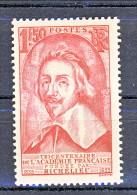 Francia 1935 Richelieu Y&T  N. 305 Fr. 1,50 Rosa MH - Ungebraucht