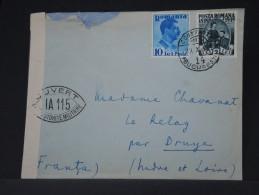 ROUMANIE - LOT DE 5 LETTRES PERIODE 1937/51  A ETUDIER   A VOIR INTERESSANT LOT P3356 - Marcofilia