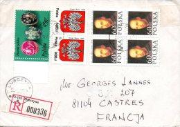 POLOGNE. Belle Enveloppe Ayant Circulé En 1995. - Lettres & Documents