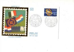 ENVELOPPE 1ER JOUR--- ELECTION AU PARLEMENT EUROPEEN---67 STRASBOURG---24 MARS 1984 - 1980-1989
