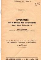 54Sm   Revue Alpes De Lumiere Faune Des Invertebrés R. Laneyrie Valbelle à Valsaintes Herbes Par Le Moine De Lure - Ciencia