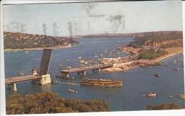 Nieuw Zeeland Zichtkaart Sydney :Spit Brug(postzegel Nog Op Achterzijde) - Sydney