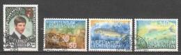 Liechtenstein 1987 Mi 921-924 - Liechtenstein