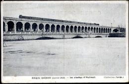PARIS INONDÉ (janvier 1910).- LE VIADUC D´AUTEUIL. - De Overstroming Van 1910