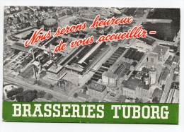 Invitation Brasseries Tuborg Beer - Publicités