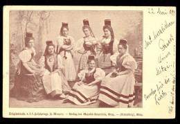 Verlag Des Majalis-Comites - Gutenberg Graz / Year 1899 / Old Postcard Circulated - Graz