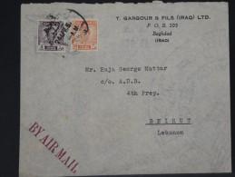 IRAQ - LOT DE 7 LETTRES PERIODE 1950  A ETUDIER   A VOIR INTERESSANT LOT P3367 - Iraq