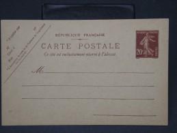 FRANCE- LOT DE 6 ENTIERS AU TYPE SEMEUSE  TOUS DIFFERENTS   A ETUDIER   A VOIR INTERESSANT LOT P3368 - Lots Et Collections : Entiers Et PAP