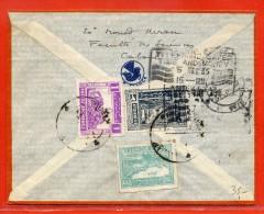AFGHANISTAN LETTRE DE 1935 DE KABOUL POUR PARIS FRANCE - Afghanistan