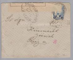 Mexiko 1917-05-07 Zensurbrief N.Küsnacht ZH CH - Mexique