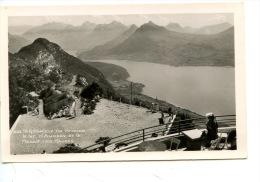 Téléphérique De Veyrier - Le Lac & Le Massif Des Bauges (n°393 Ed Gil) Terrasse Café - Frankrijk