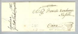 Argentina Argeninien 1747-04-03 Brief > Chur Schweiz CH - Argentine