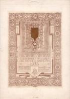 Calendario Augurale 1933. Ospizio Nazionale Piccoli Derelitti Di Padre Beccaro Milano. CISARI - SPADONI - Calendari