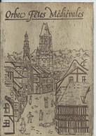 Carte Postale  Très Originale  En Bois De ORBEC - Postcards