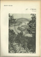 @@@ URSS, USRR Soviet Union (part 2) Related 4 Pages With Photos Out Of  1959 Printed Book - Reproductions