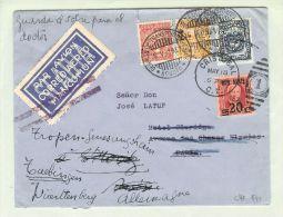 Columbien 1931-05-16 Scadta >CH>DE USA-Frankatur! - Colombie