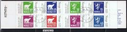 NORV-14 - NORVEGE CARNET DE8 VALEURS N°C731 OBLITERE - Booklets