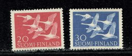 Finlande ** -  N° 445/446  - Journée Des Pays Du Nord - Oies - Finnland