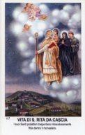 Santino VITA DI SANTA RITA DA CASCIA (I Suoi Santi Protettori Trasportano Miracolosamente RITA Dentro...) - PERFETTO H85 - Religione & Esoterismo