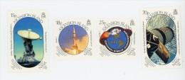 Ascension1989-Apollo 11-Anniversaire-Emission Commune-YT 486/9***MNH