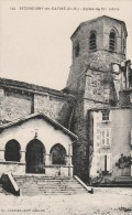 Cpa N° 144 SECONDIGNY EN GATINE Eglise Du XIIe Siècle - Secondigny