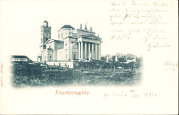 Eger - Basilica (railway Stamping) :) - Hungary