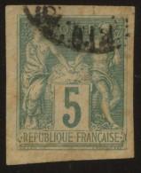 N°31 (5c.) Oblitéré - Sage