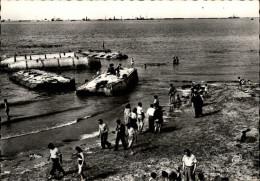 14 - ARROMANCHES - Débarquement - épaves - Guerre 39-45 - Arromanches