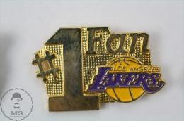 USA Basketball Team - Los Angeles Lakers #1 Fan - Pin Badge #PLS - Baloncesto