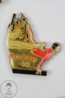 Barcelona 1992 Olympic Games Athletics - Pin Badge #PLS - Juegos Olímpicos
