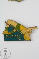 Barcelona 1992 Olympic Games - High Jump - Pin Badge #PLS - Juegos Olímpicos