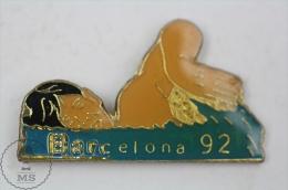 Barcelona 1992 Olympic Games - Swimming - Pin Badge #PLS - Juegos Olímpicos