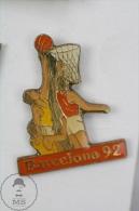 Barcelona 1992 Olympic Games - Basketball - Pin Badge #PLS - Juegos Olímpicos