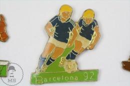 Barcelona 1992 Olympic Games - Football - Pin Badge #PLS - Juegos Olímpicos