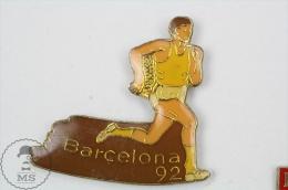 Barcelona 1992 Olympic Games - Running - Pin Badge #PLS - Juegos Olímpicos