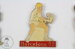 Barcelona 1992 Olympic Games - Tennis - Pin Badge #PLS - Juegos Olímpicos