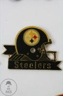 American Football Team Helmet Logo: Pittsburgh Steelers - Pin Badge #PLS - Fútbol
