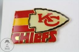 Kansas City Chiefs, American Football Team - Pin Badge #PLS - Fútbol