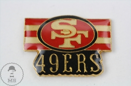 San Francisco 49ers, American Football Team - Pin Badge #PLS - Fútbol