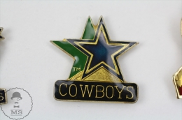 Dallas Cowboys, American Football Team - Pin Badge #PLS - Fútbol
