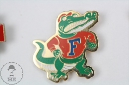 Florida Gators, American Football Team - Pin Badge #PLS - Fútbol